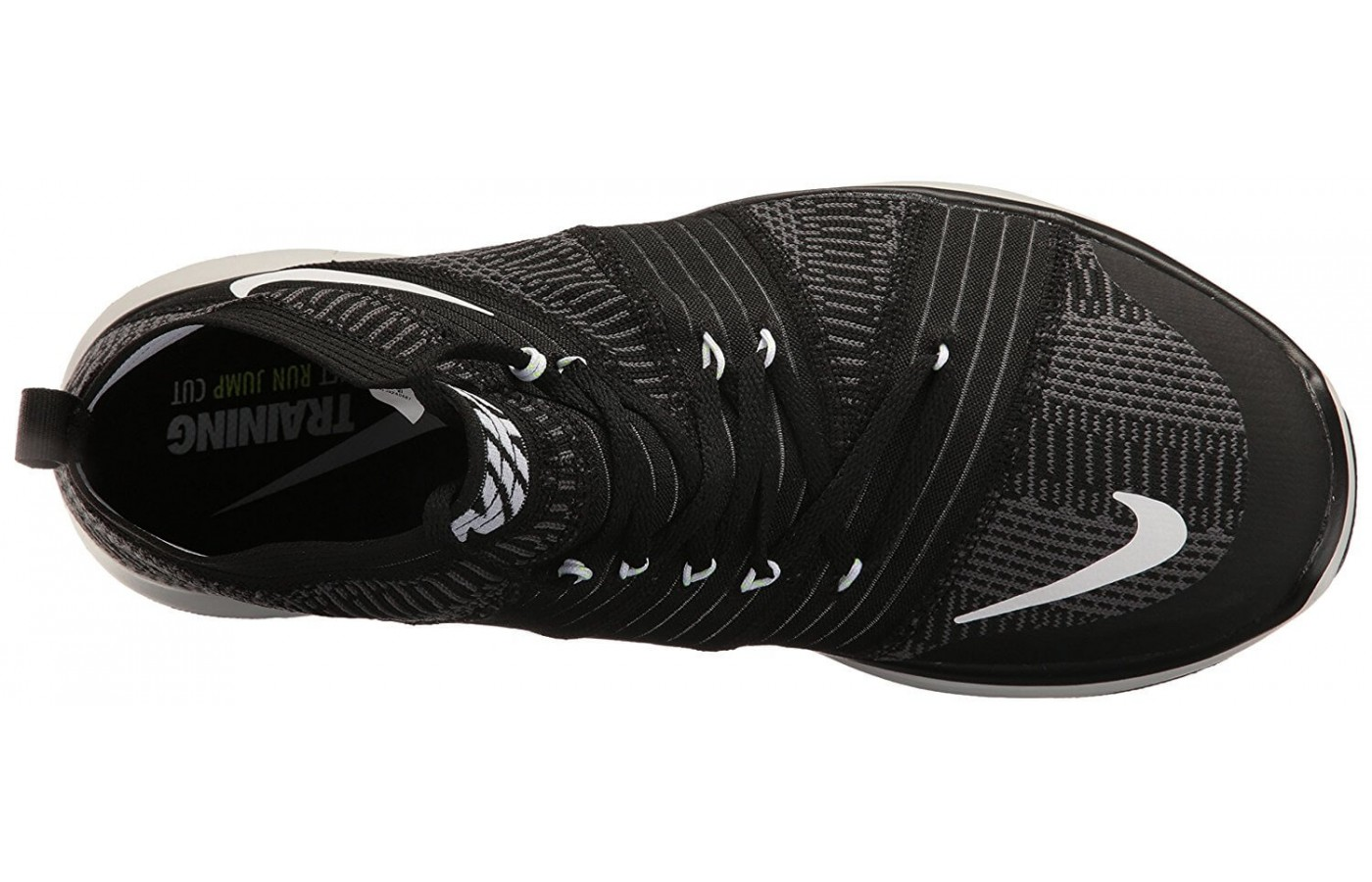 The Nike Free Train Virtue has a Flywire upper
