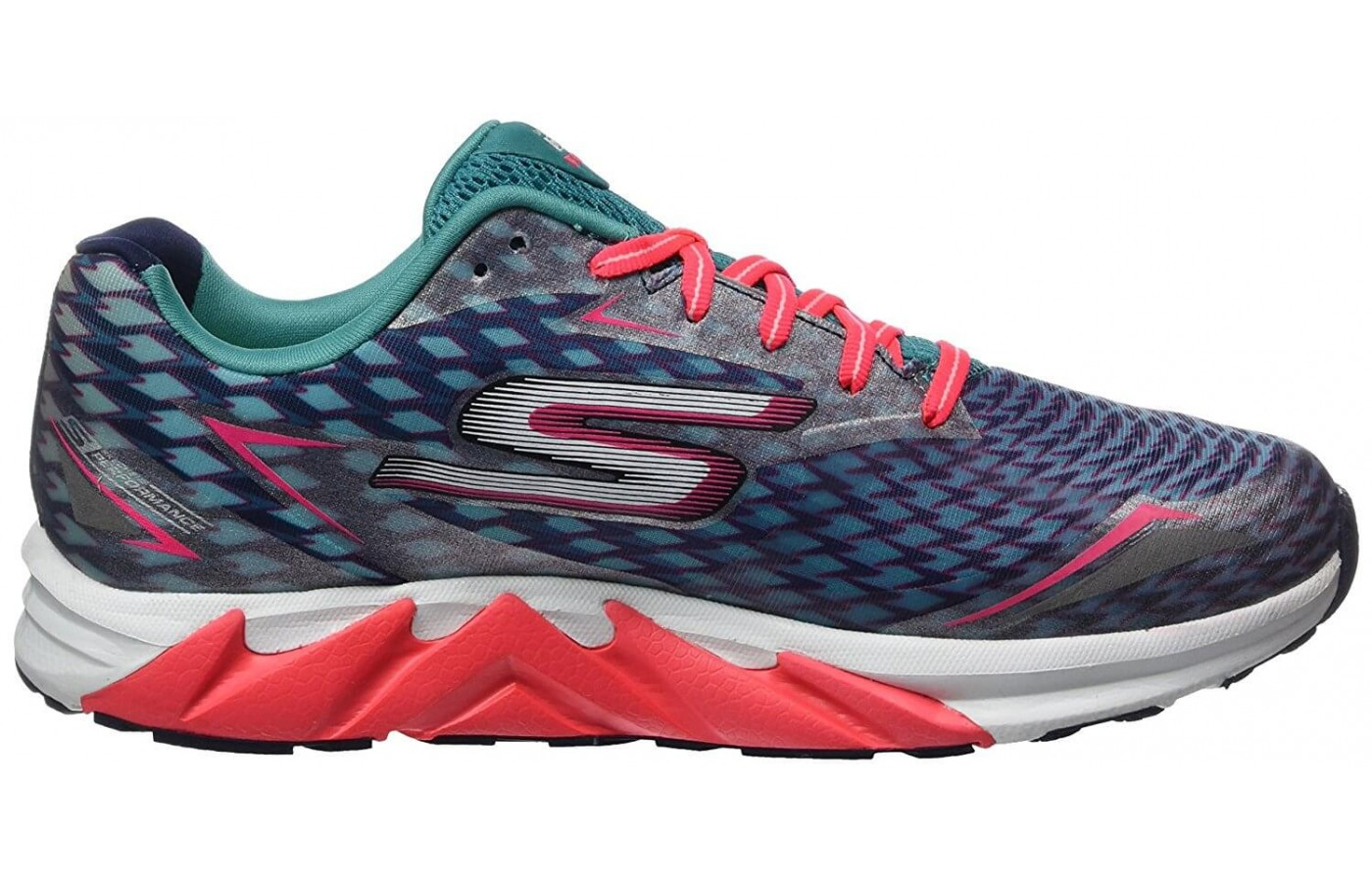 The Skechers GoRUN Forza 2 features high abrasion rubber material on its outsole