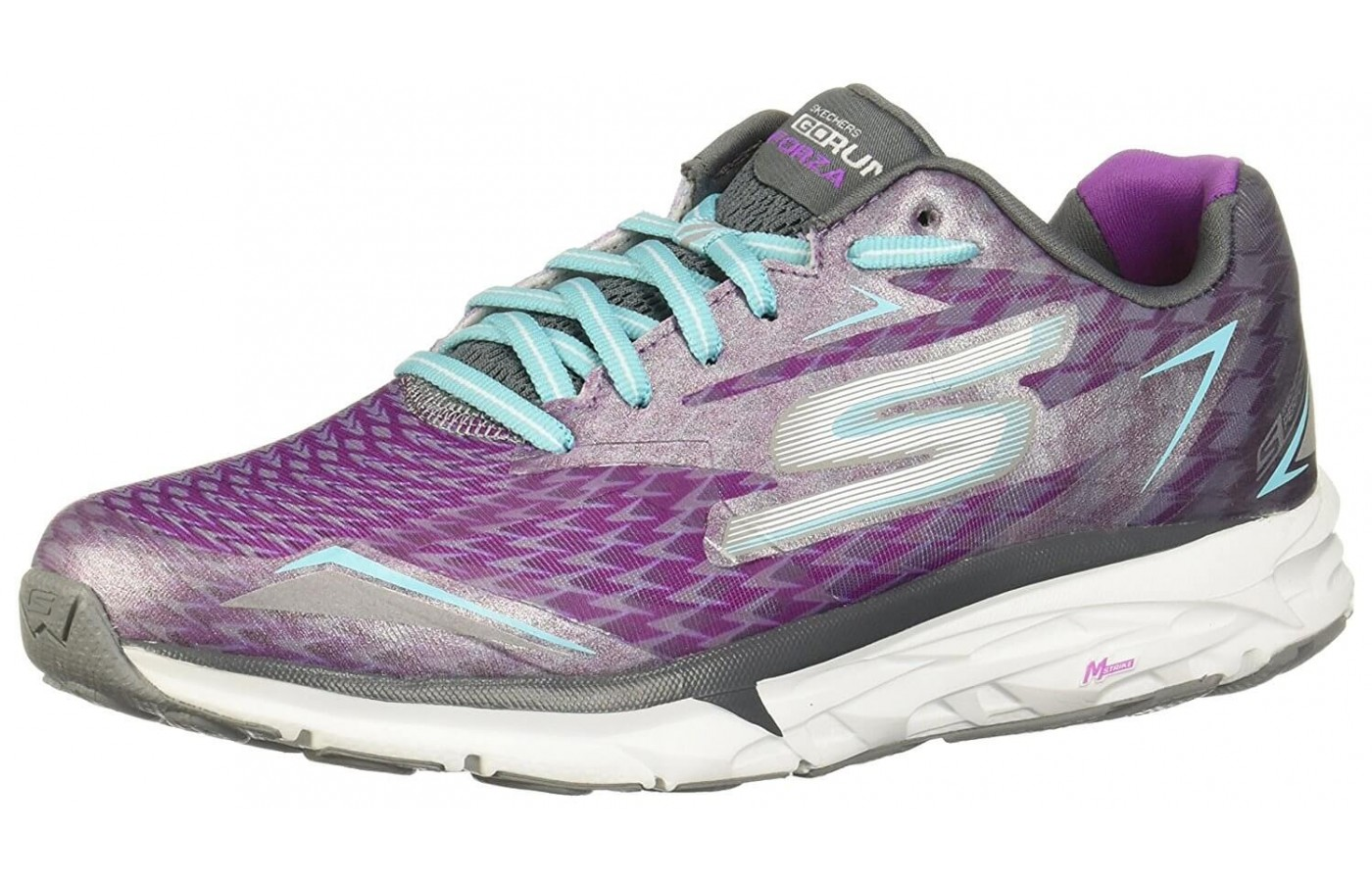 The Skechers GoRUN Forza 2 has a supportive heel counter