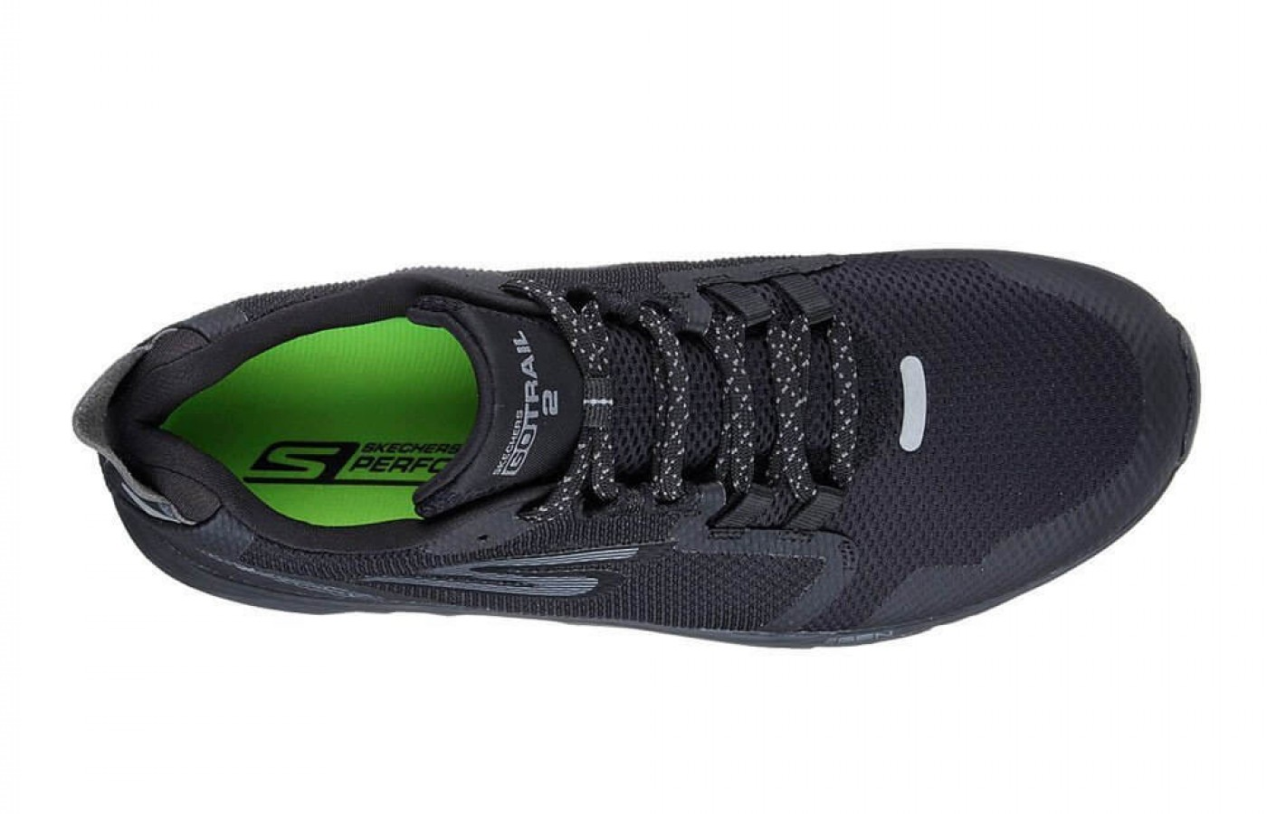 The Skechers GOTrail 2 features a stretch lacing system