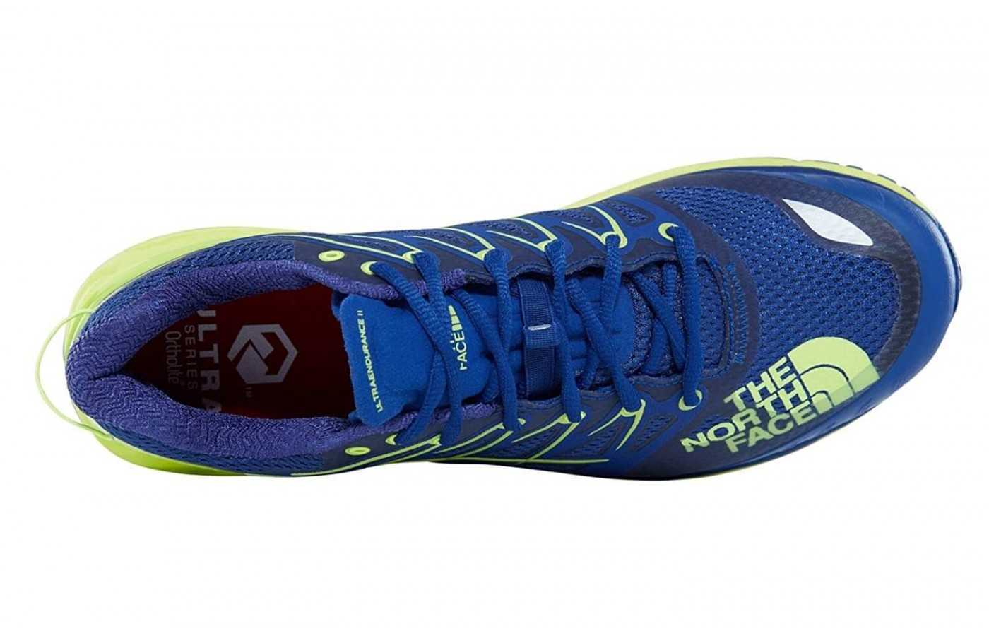 The The North Face Ultra Endurance II features a TPU toe cap for forefoot protection