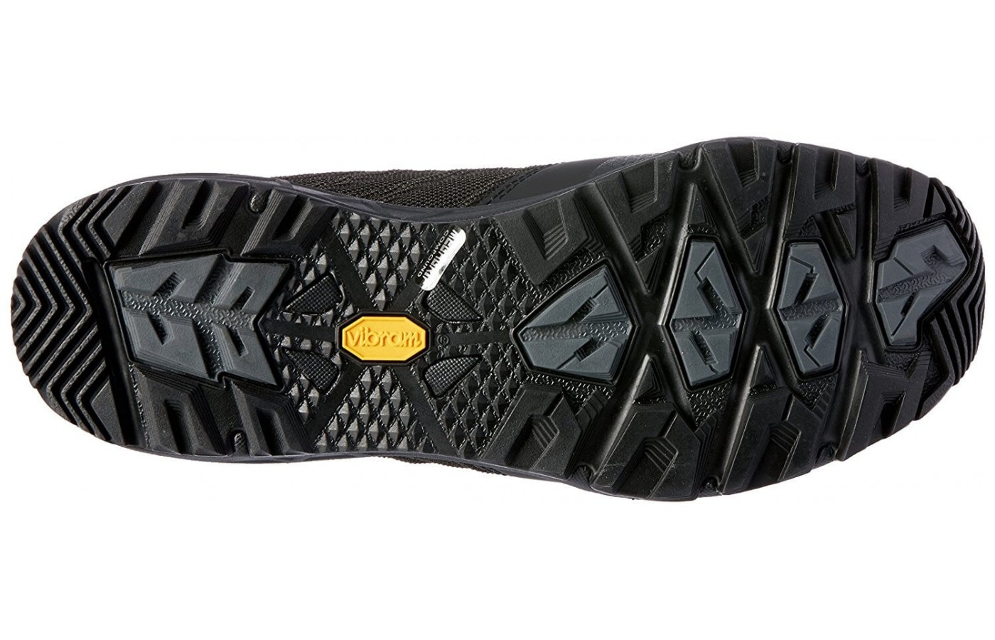 The The North Face Ultra Fastpack II GTX features a Vibram MegaGrip outsole