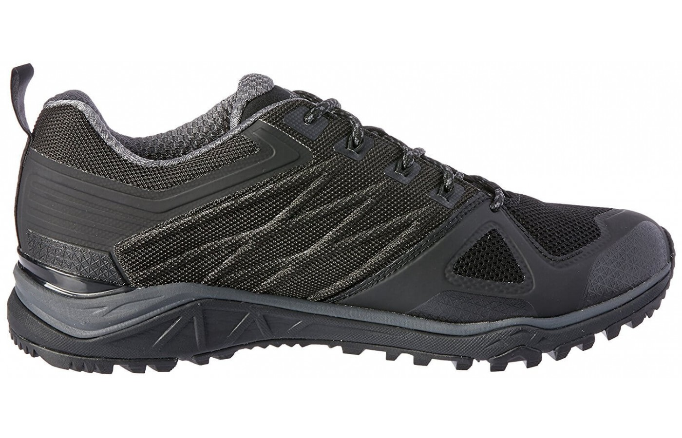 The The North Face Ultra Fastpack II GTX has an ESS Snake plate in its forefoot