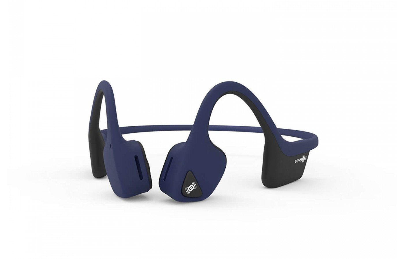 A front-facing view of the Aftershokz Trekz Air.