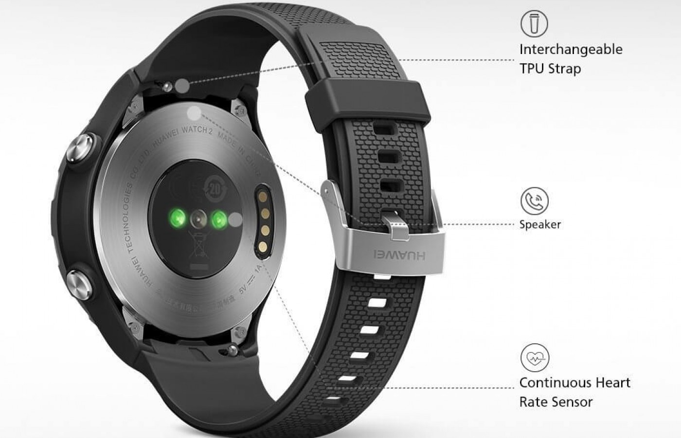 The watch is designed to be compatible with any Android of iOS device.