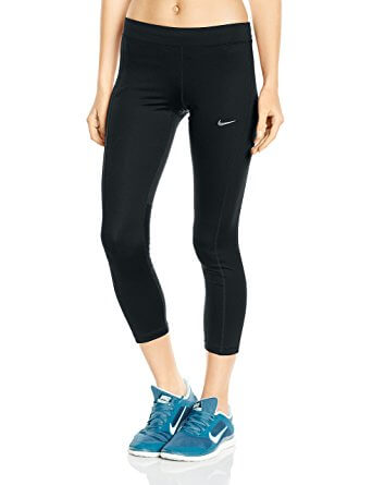 3. NIKE Women's Power Essential Dri-FIT Running Crops