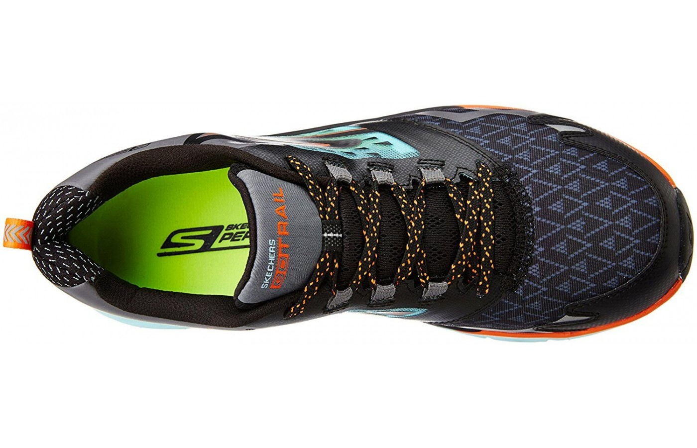 A top view of the Skechers GoTrail.