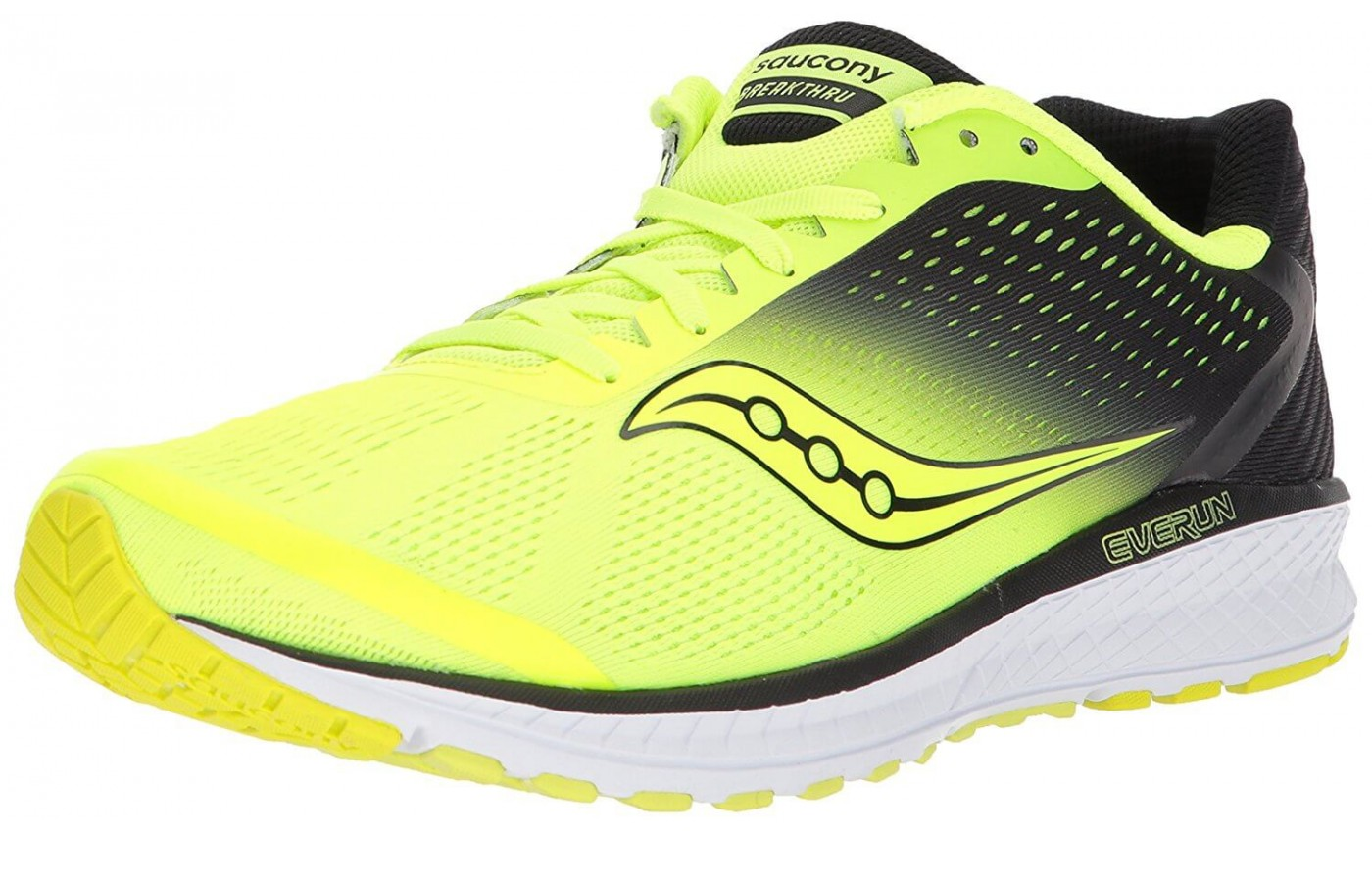 Saucony Breakthru 4 front angled perspective