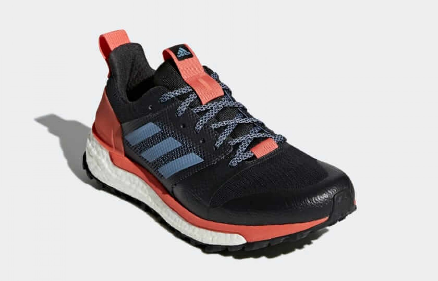 The Adidas Supernova Trail front angled perspective