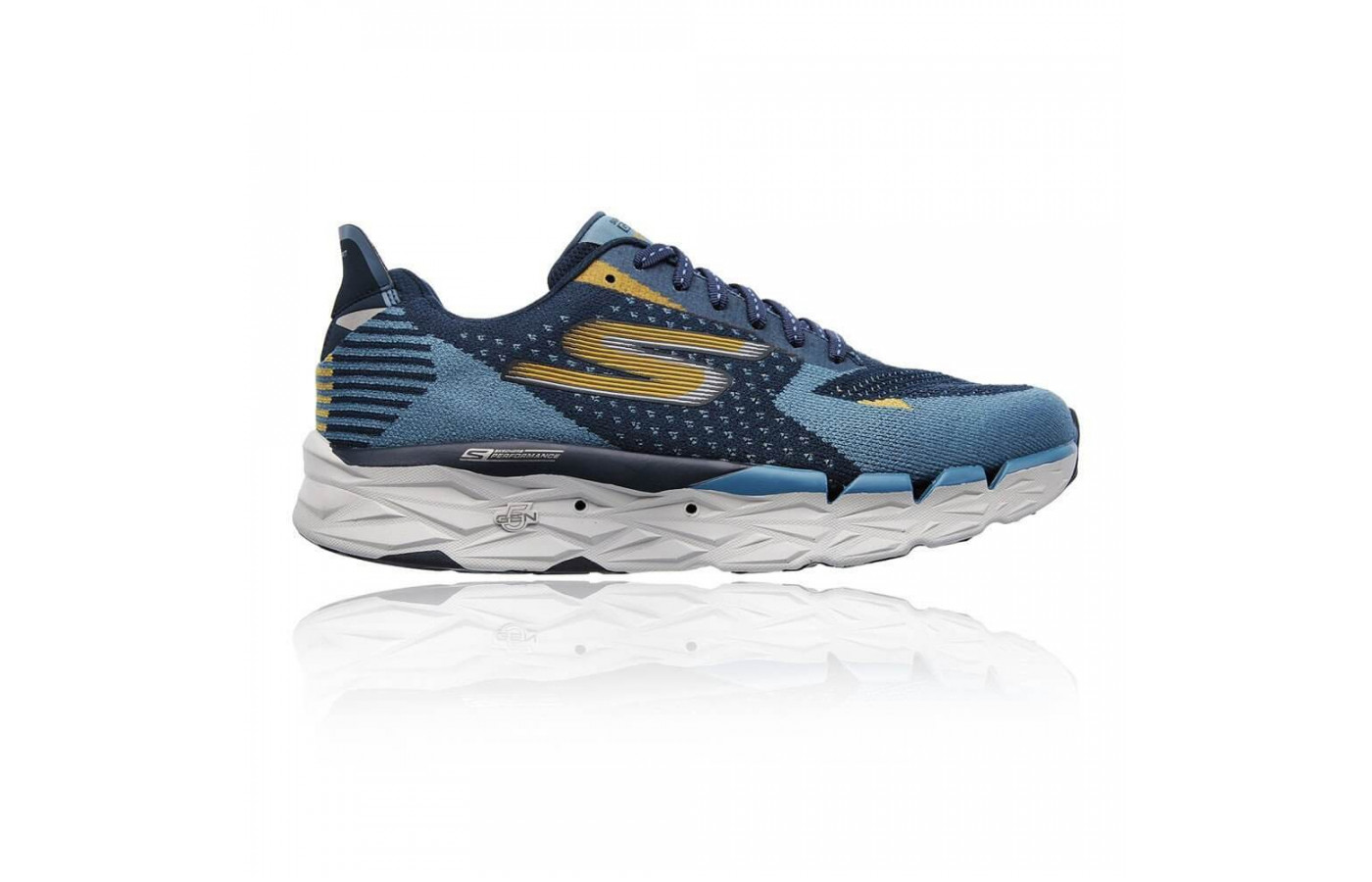 The Skechers GoRun Ultra Road features numerous drainage holes