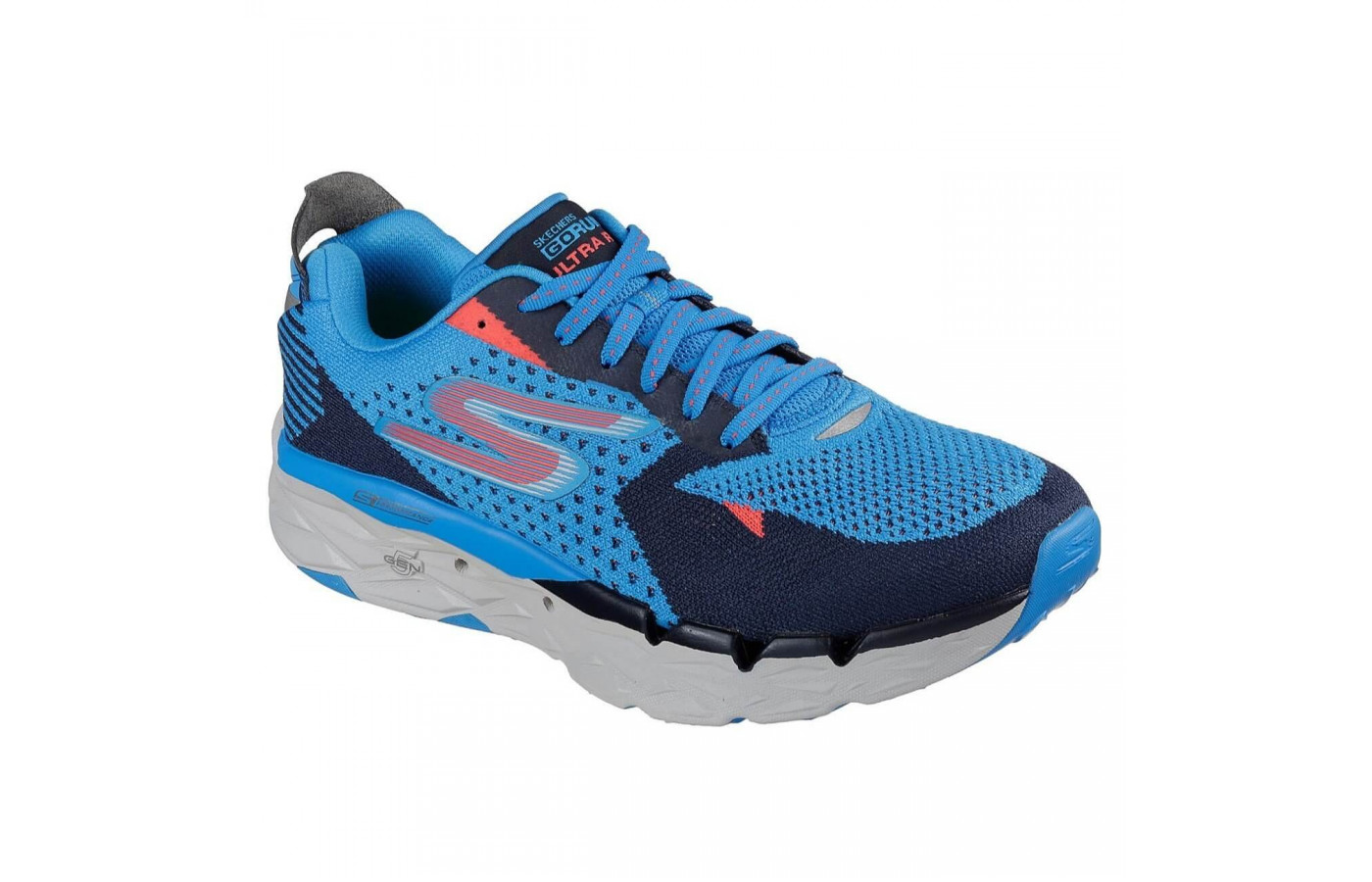The Skechers GoRun Ultra Road has a midsole composed of Resalyte foam