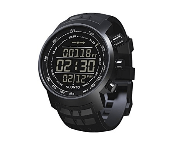 The standard face of the Suunto Elementum Terra.