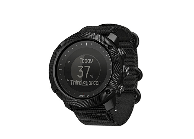 The standard face for the Suunto Traverse Alpha.