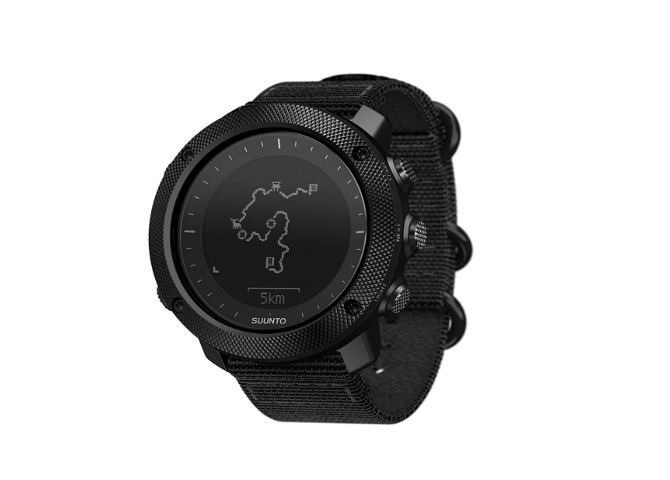 Suunto Traverse Alpha GPS map