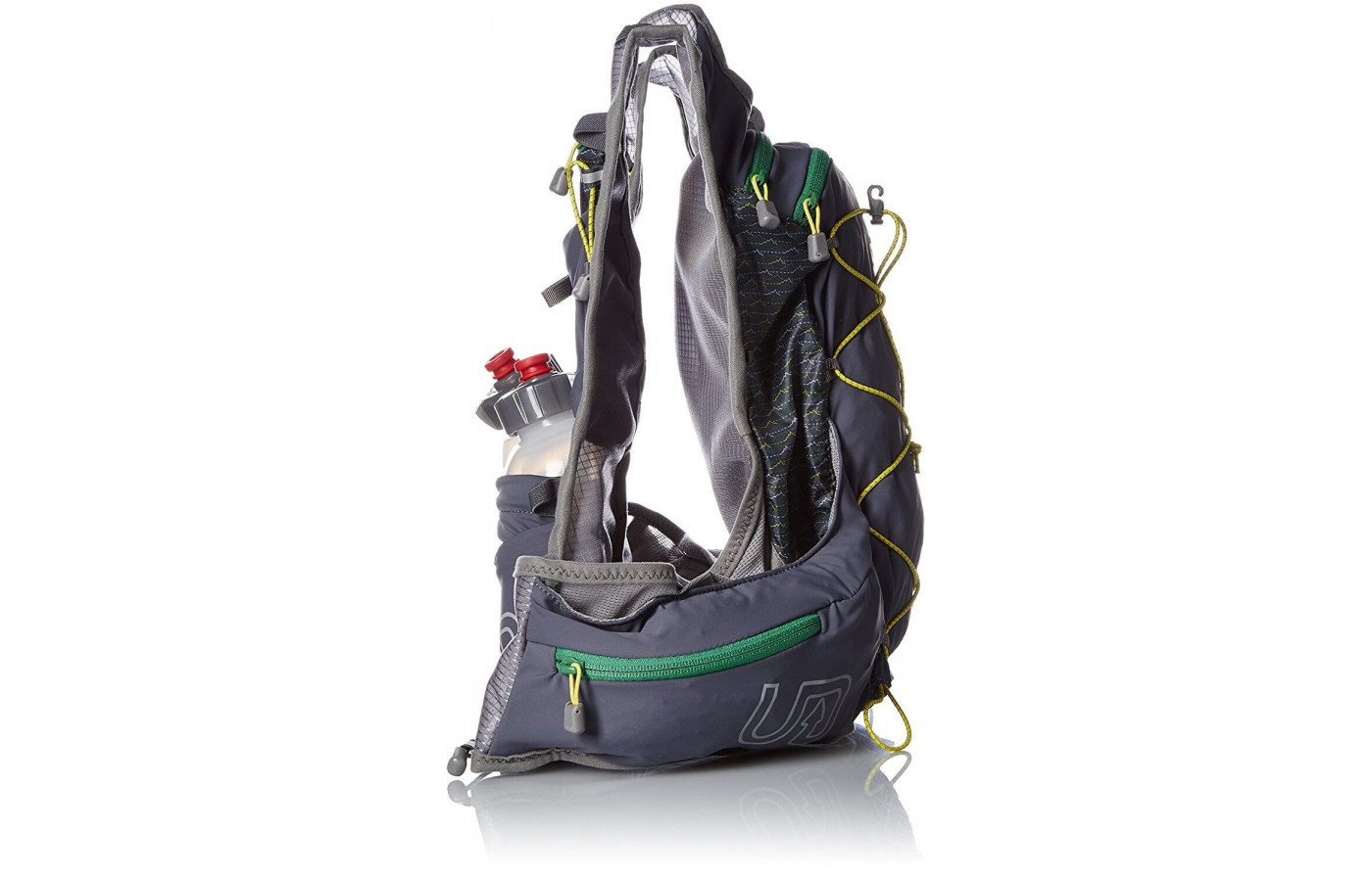The Ultimate Direction Jurek FKT Vest has a total of 11 pockets and a large main compartment