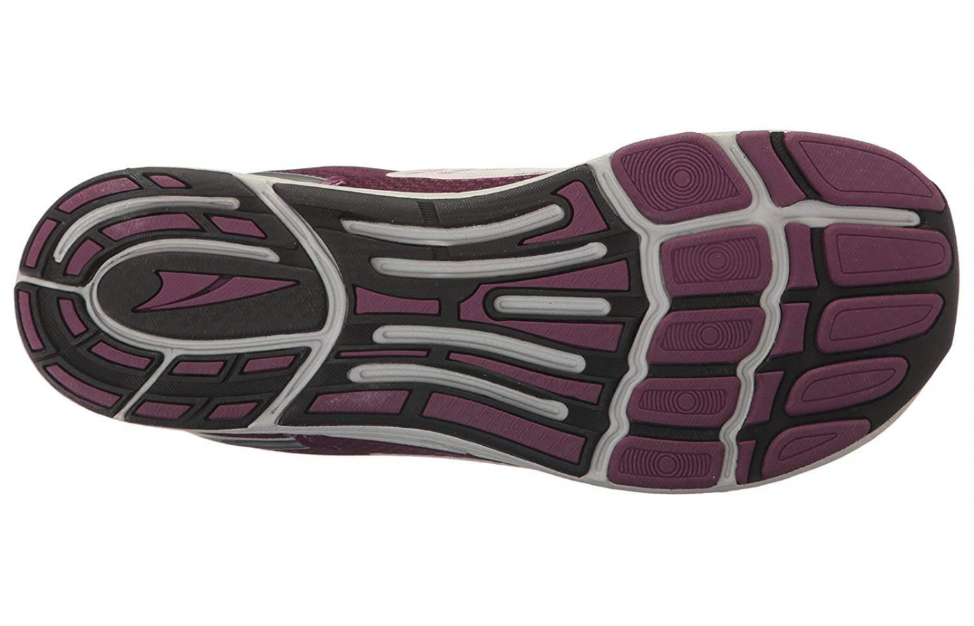 A bottom view of the Altra Intuition 4.