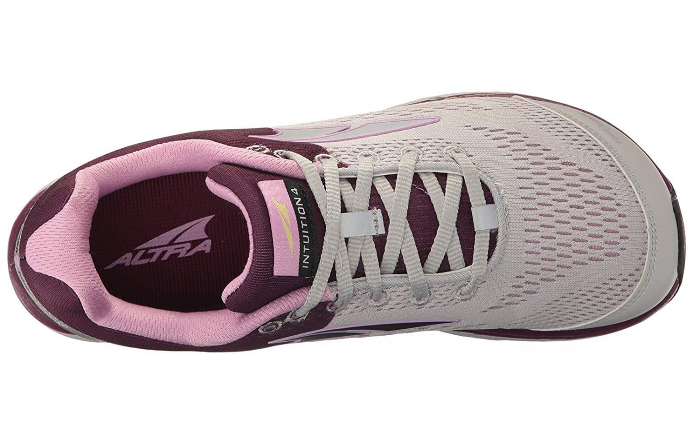 A top view of the Altra Intuition 4.