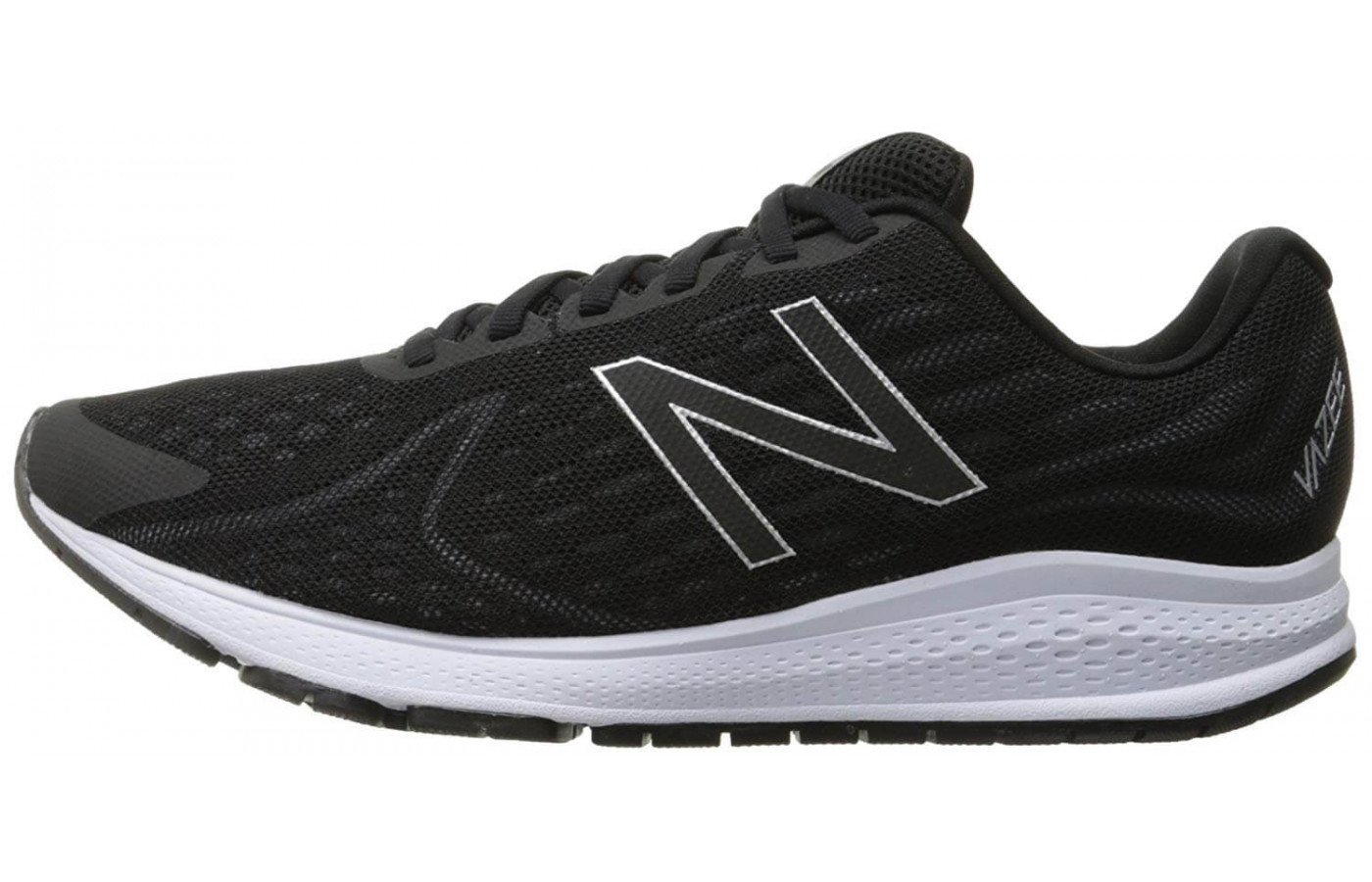 The medial side of the New Balance Vazee Rush v2.