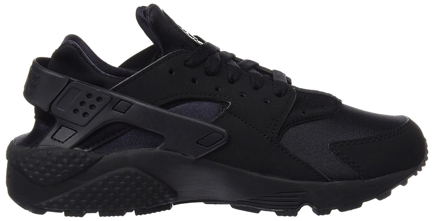 The lateral side of the Nike Air Huarache.