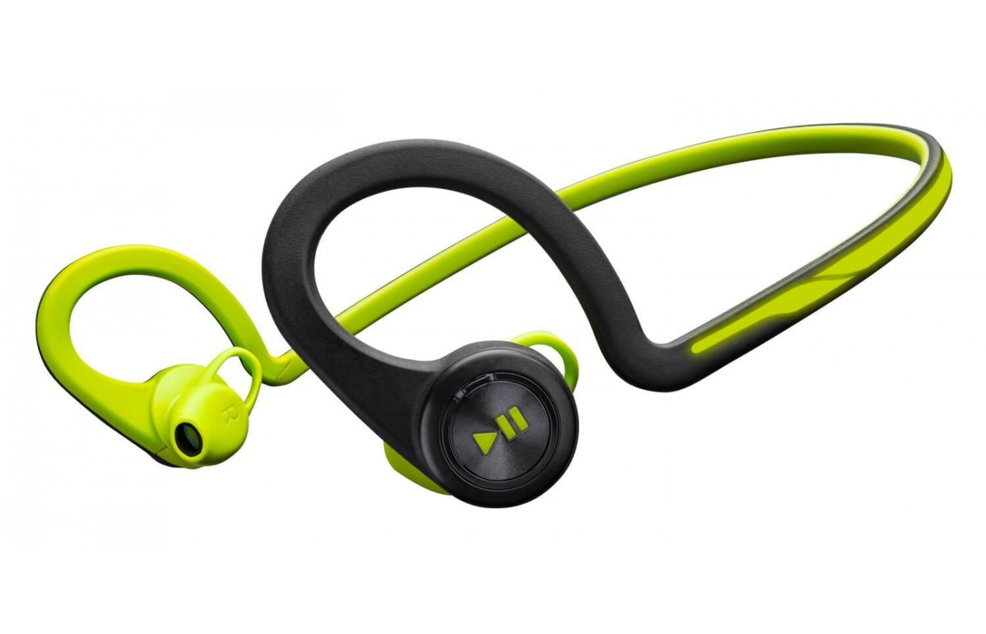 An angled view of the Plantronics Backbeat Fit.