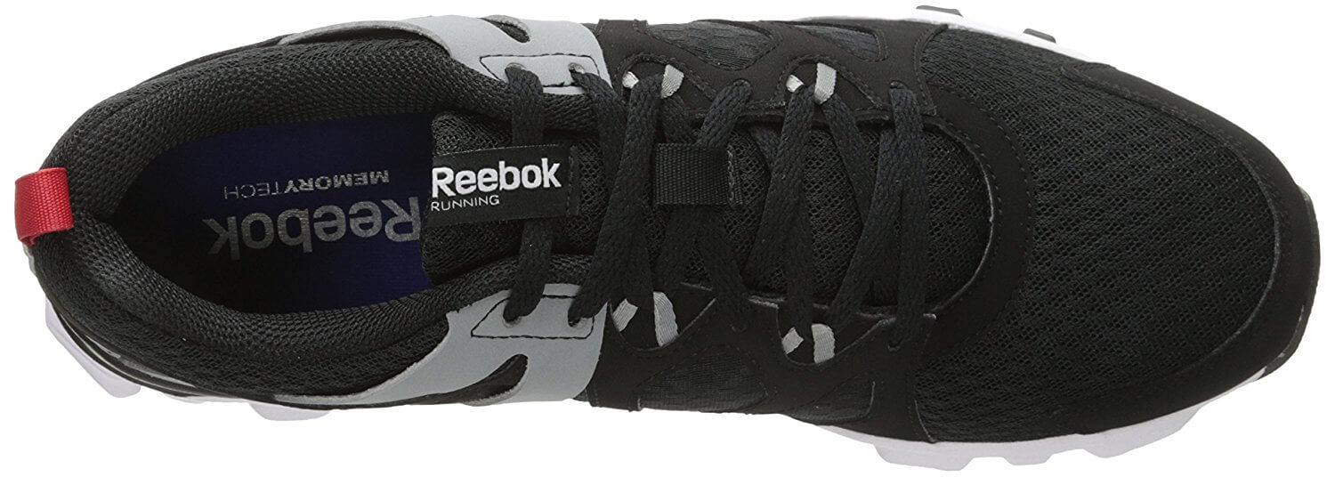 A top view of the Reebok Hexaffect Run 2.0.