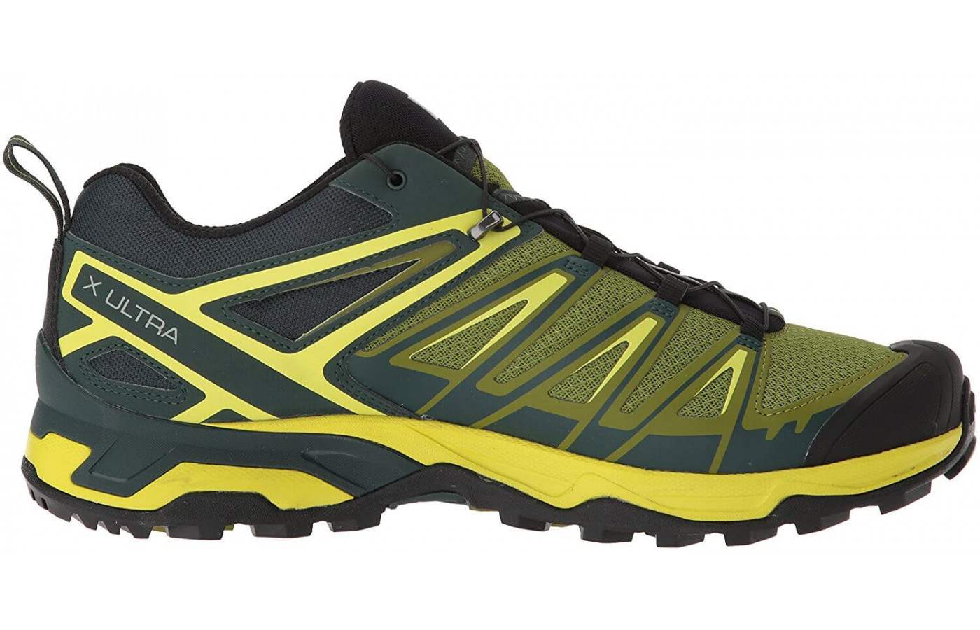 A side view of the Salomon X Ultra 3.