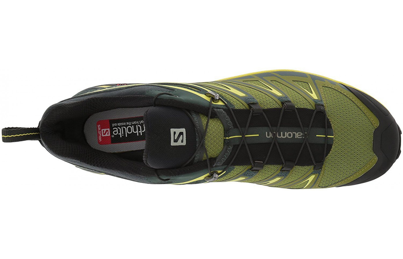 A top view of the Salomon X Ultra 3.