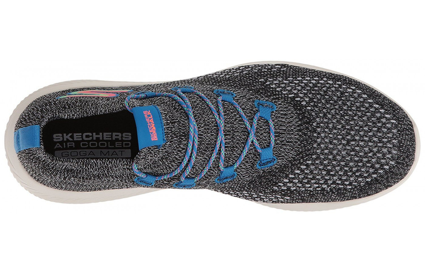 A top view of the Skechers GoWalk Revolution Ultra.