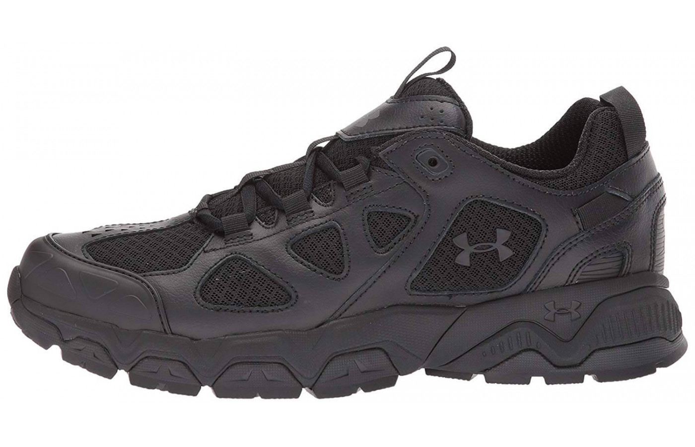 The medial side of the Under Armour Mirage 3.0.
