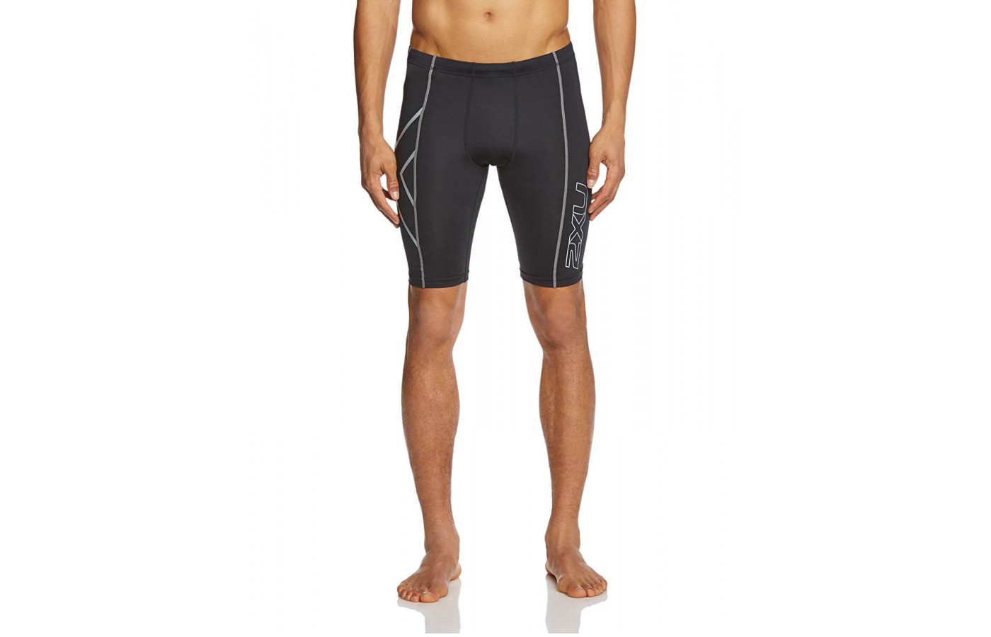 The 2XU Compression Shorts can wick away moisture to prevent skin irritation.