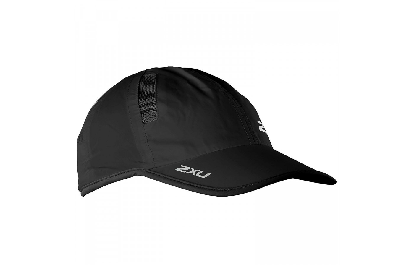 The 2XU Run Cap has vents on top to improve its breathability.