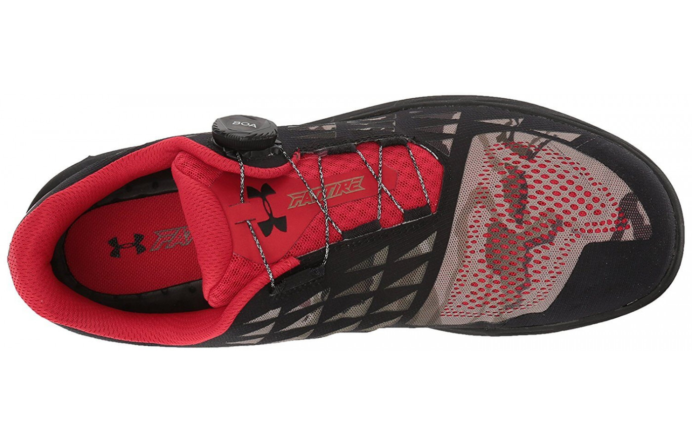 The Under Armour Fat Tire 2 lacing system