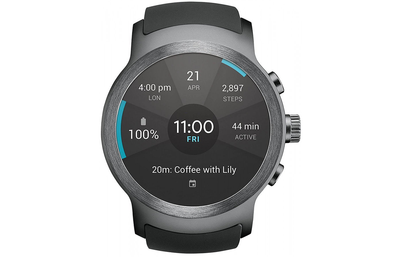 LG Watch Sport face