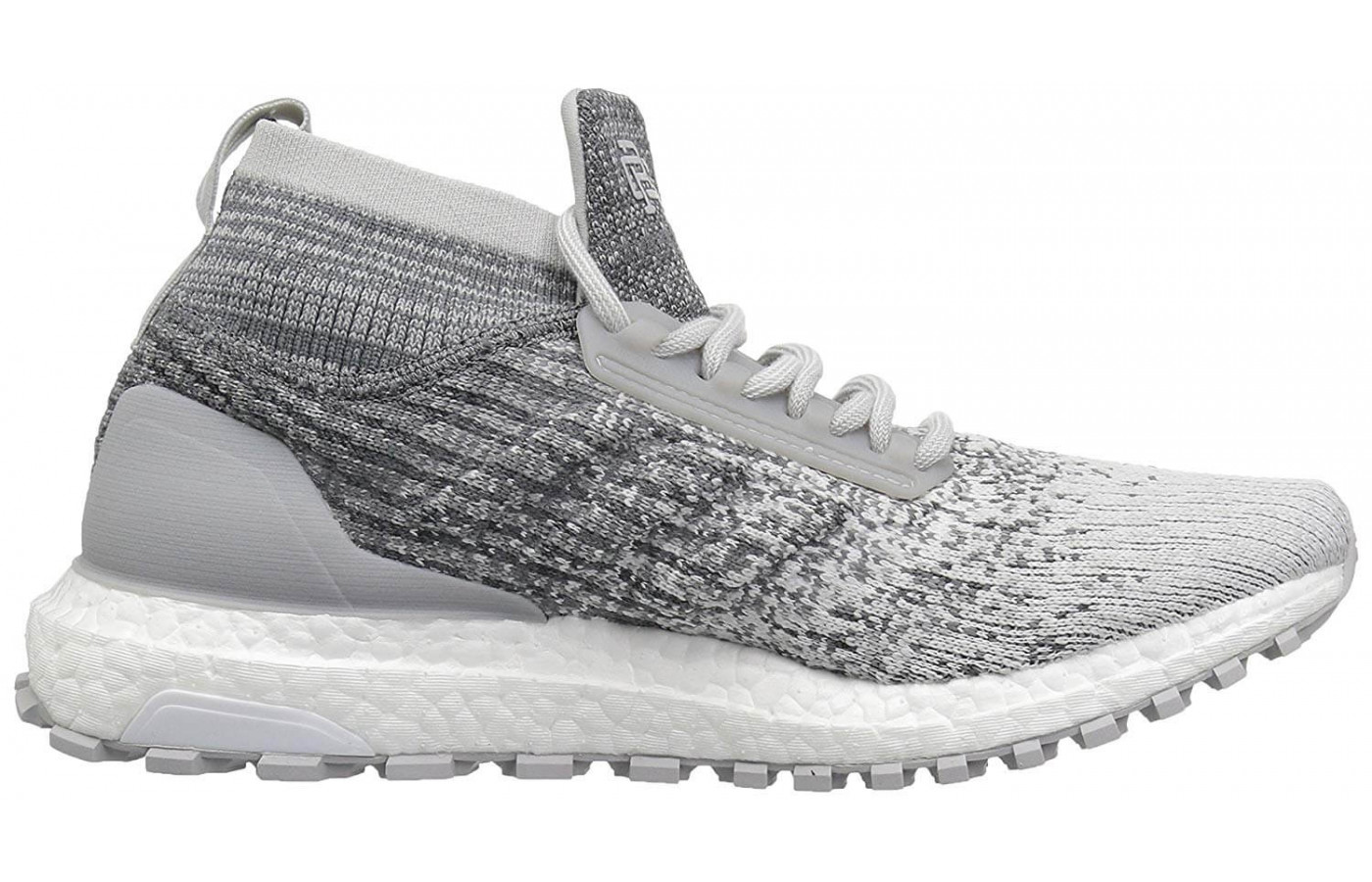 7aaccb7d711 ... The Adidas X Reigning Champ Ultraboost are made of breathable mesh ...