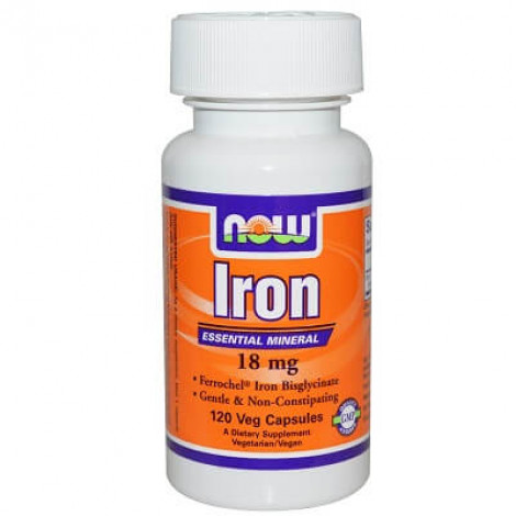 NOW iron supplements