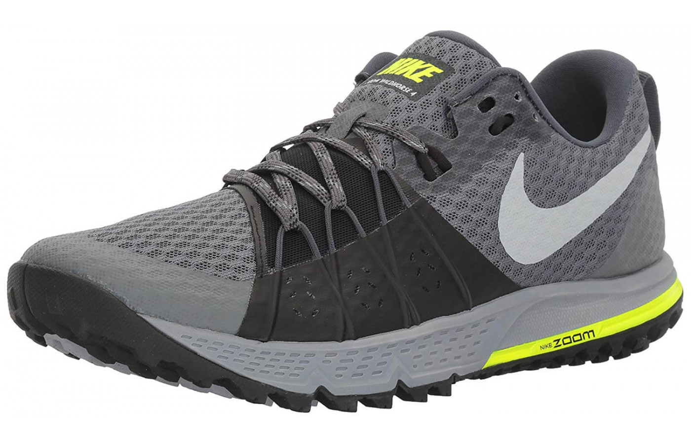 new styles fb5b8 3e3a7 The The Nike Air Zoom Wildhorse 4 features Zoom Air cushioning units in the  heel ...