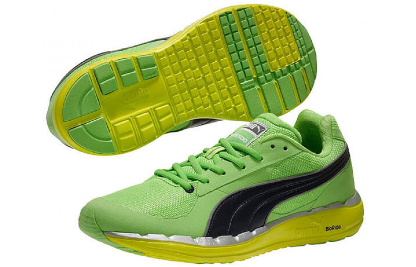 The outsole provides added traction and grip for runners.