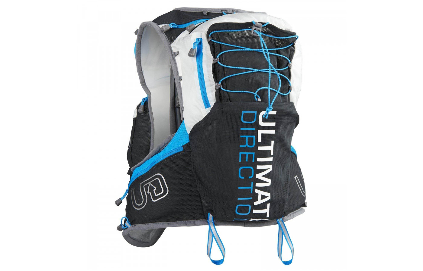 The Ultimate Direction PB Adventure Vest 3.0 has a total capacity of 16L