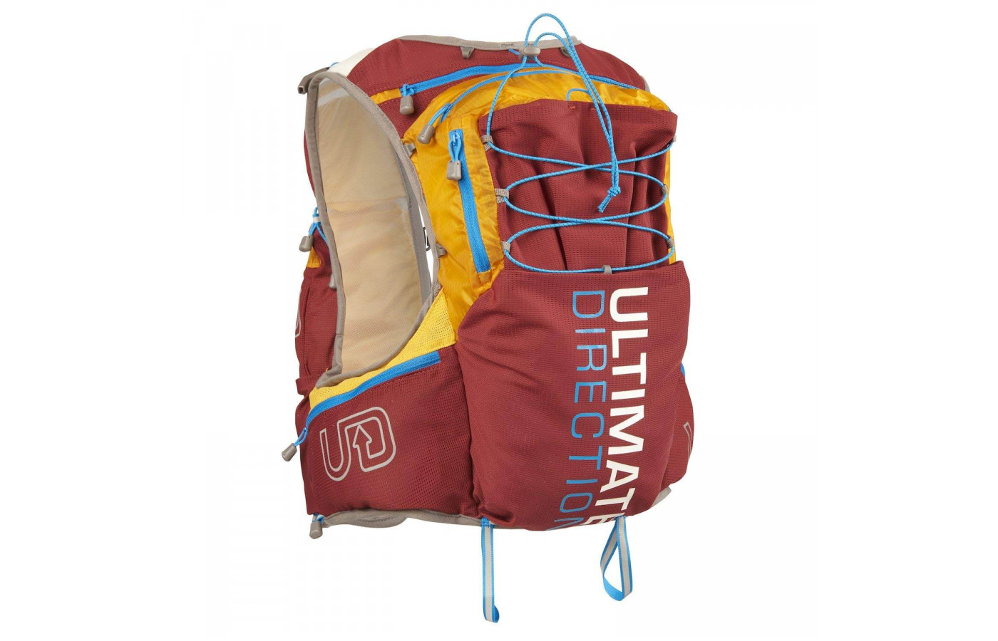 The Ultimate Direction PB Adventure Vest 3.0 can accommodate a bladder of up to 2L
