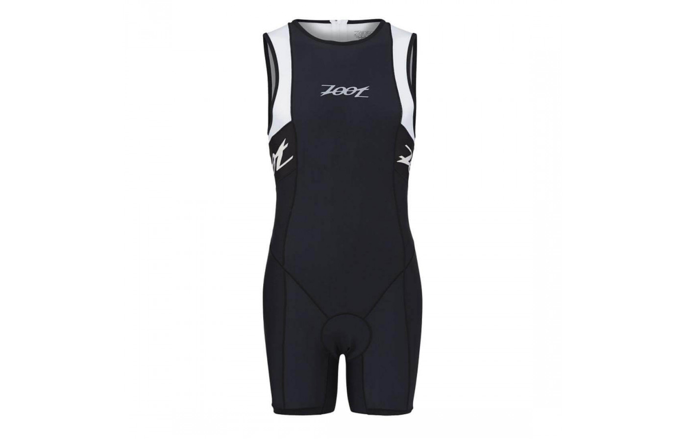 The Zoot Performance Tri Racesuit is composed of Nylon and Spandex