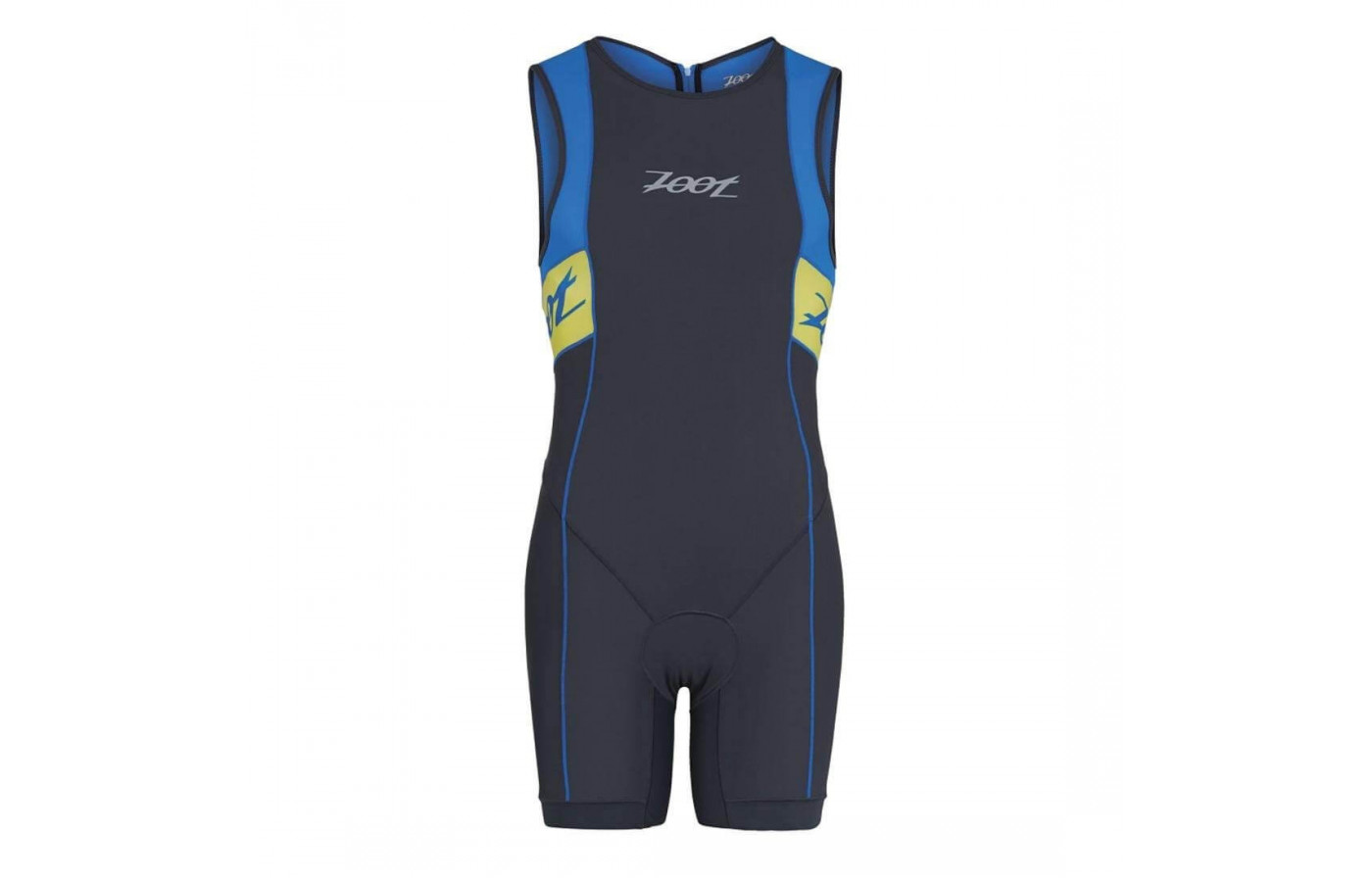 The Zoot Performance Tri Racesuit has pockets for storage