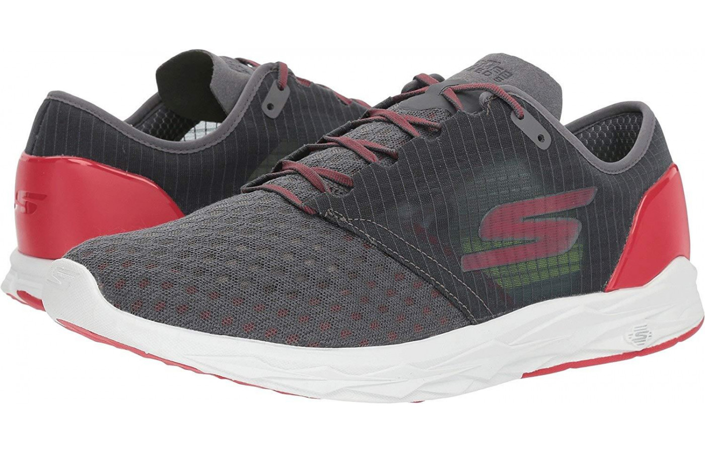 This Skechers GoMeb Speed 5 is designed for racing.