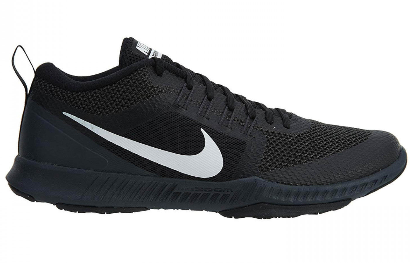 The Zoom Air unit midsole is cushioned and comfortable.