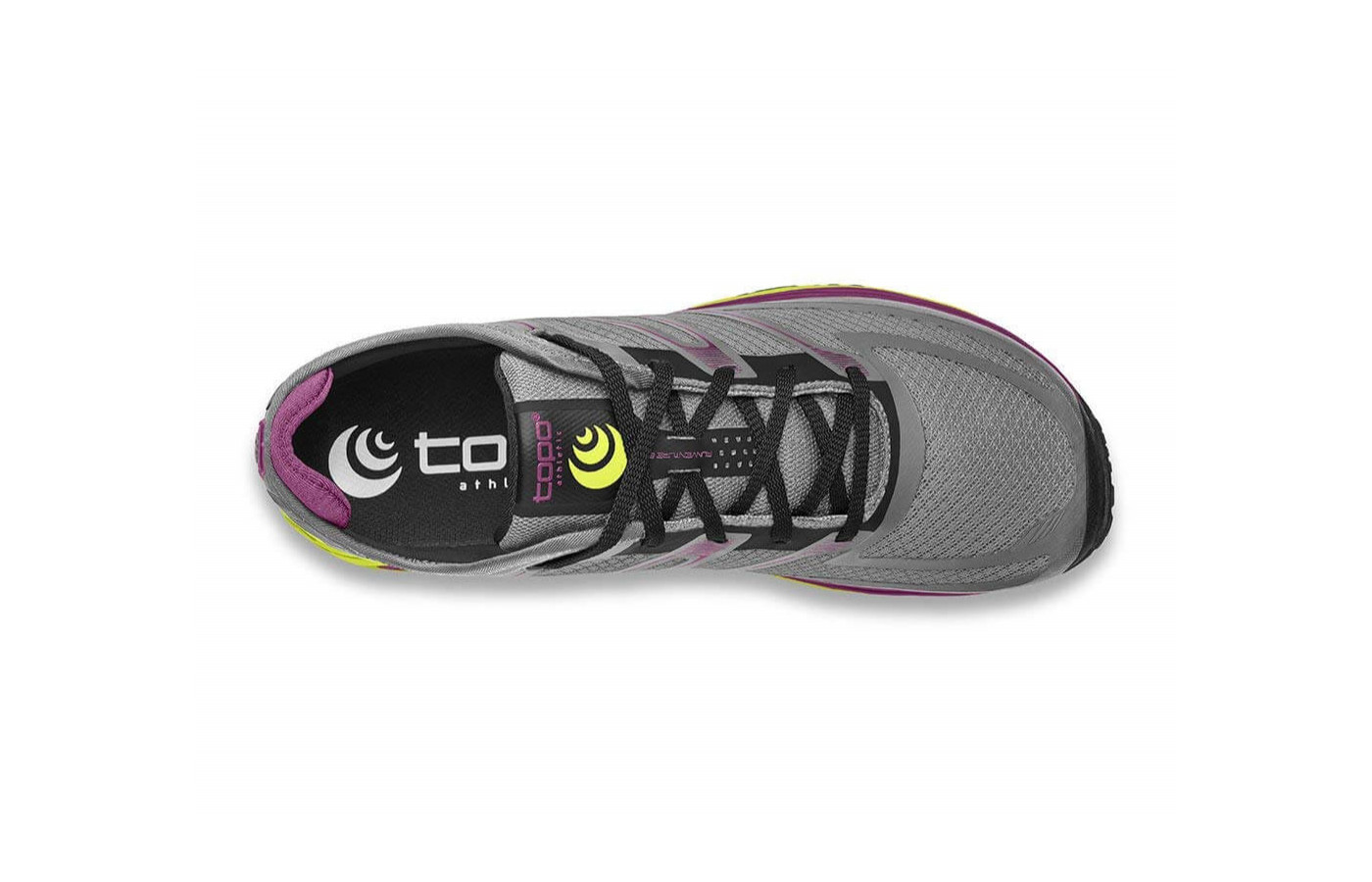 The Runventure 2 Anatomical Toe Box allows extra toe room