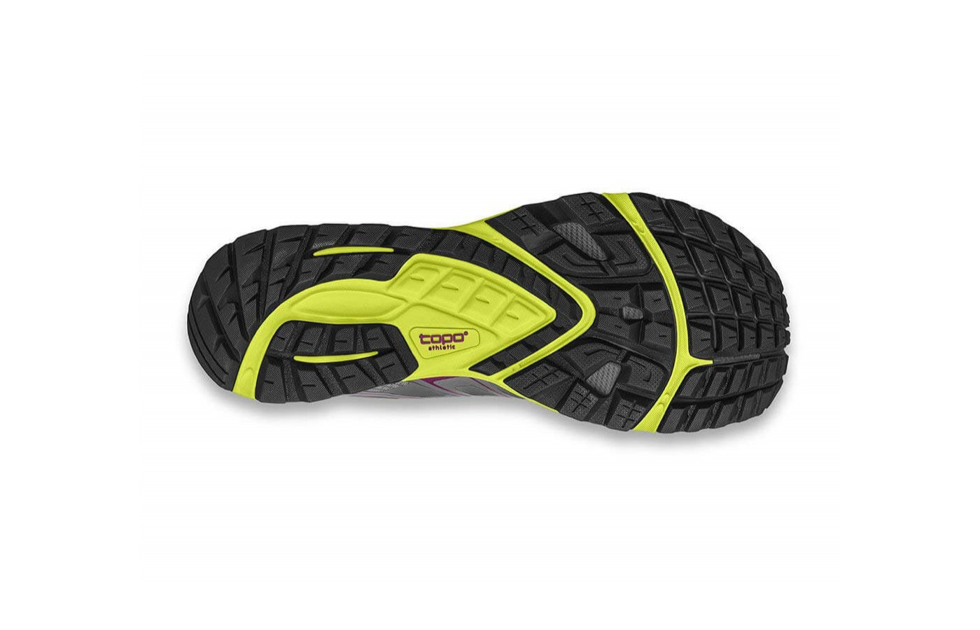 The Runventure 2 features a rubber outsole with multi-directional lugs