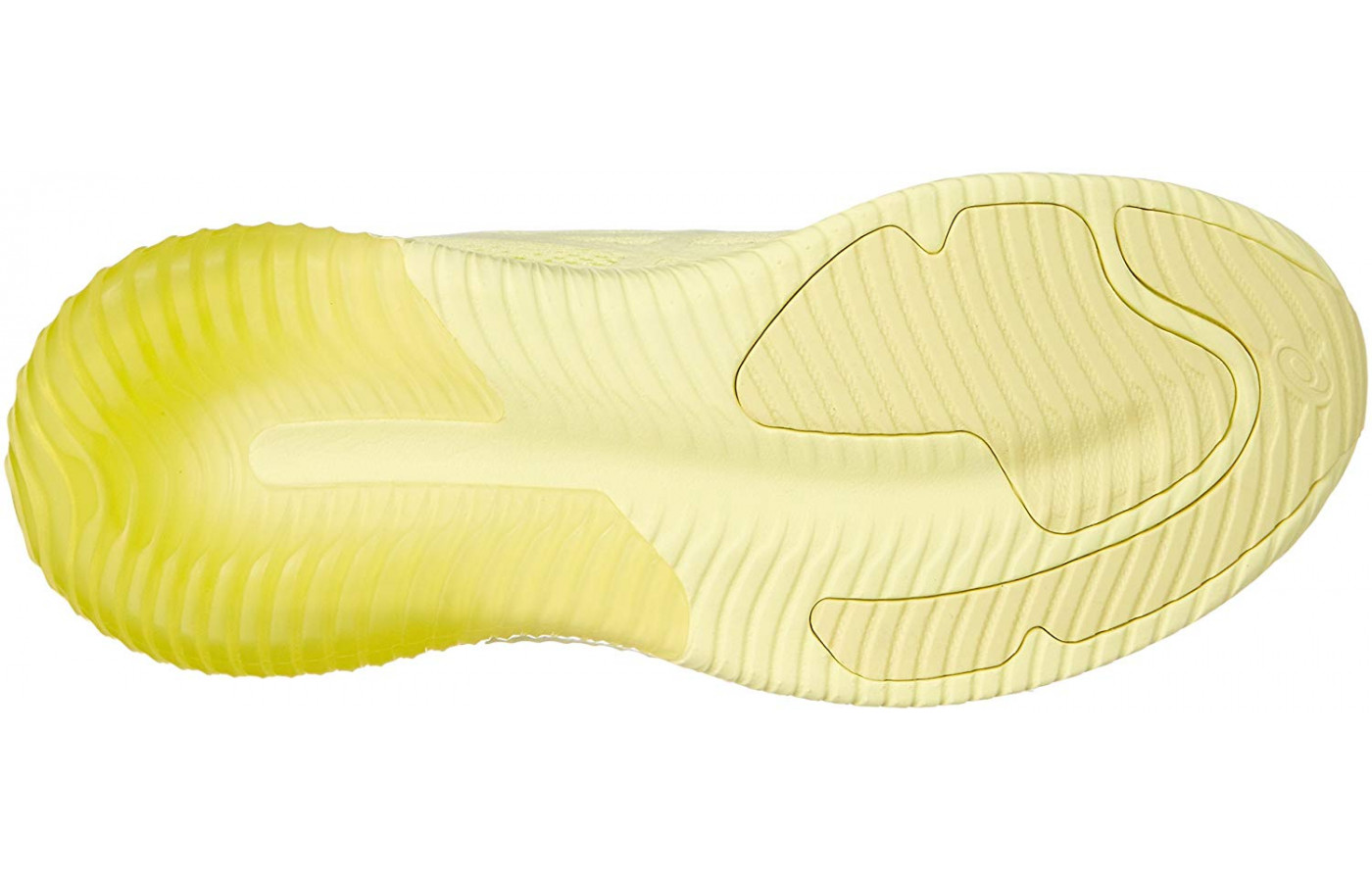 The Gel Kenun MX features a durable rubber outsole