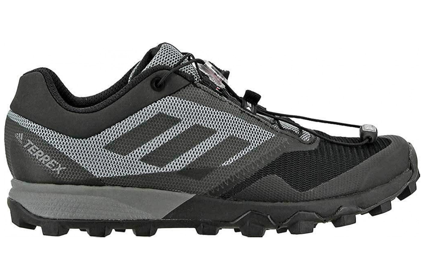 The Adidas Terrex TrailMaker features a dual mesh upper.