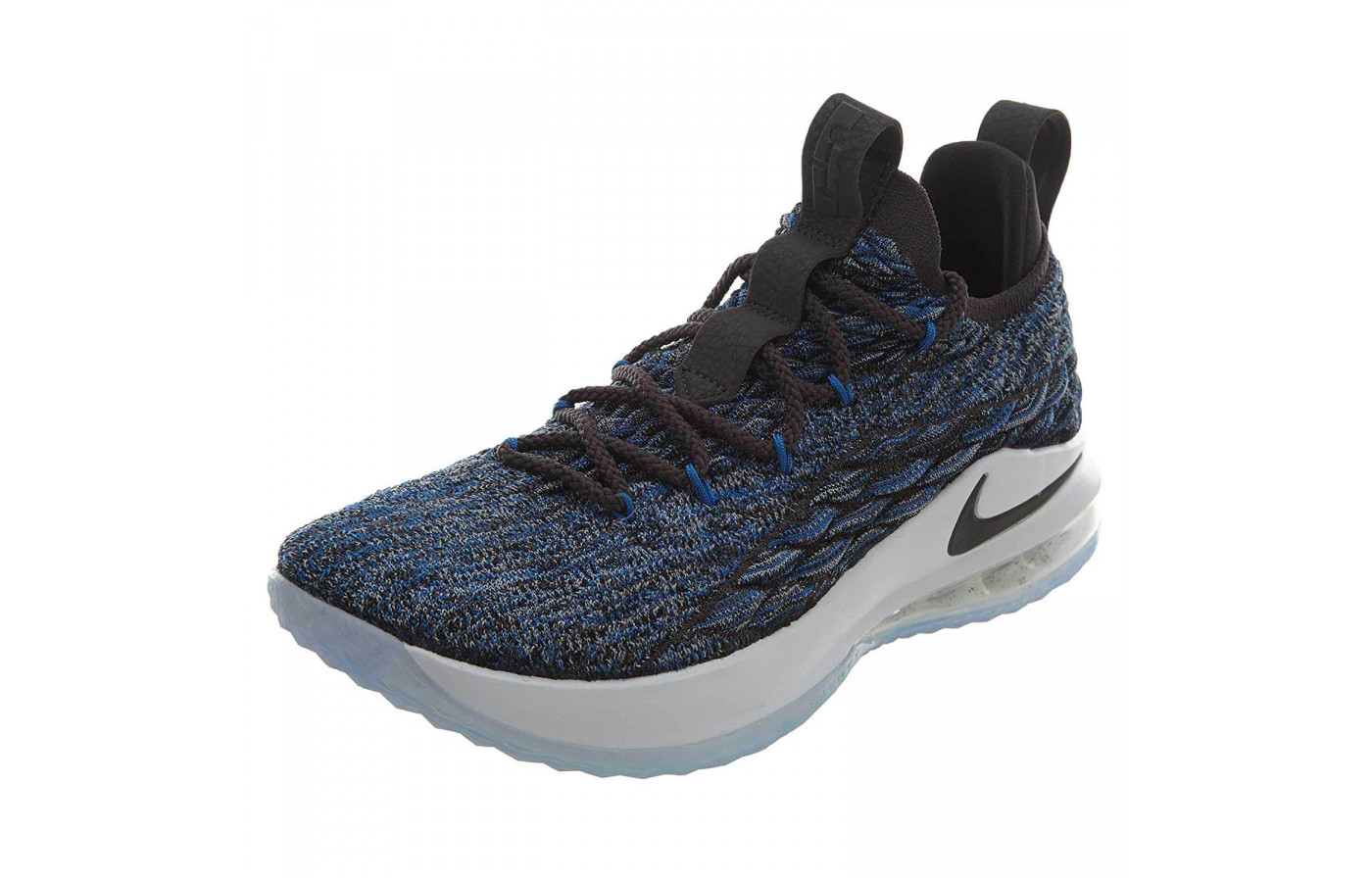 11351a68c21 The Lebron 15 Low is constructed with a Battleknit upper material ...