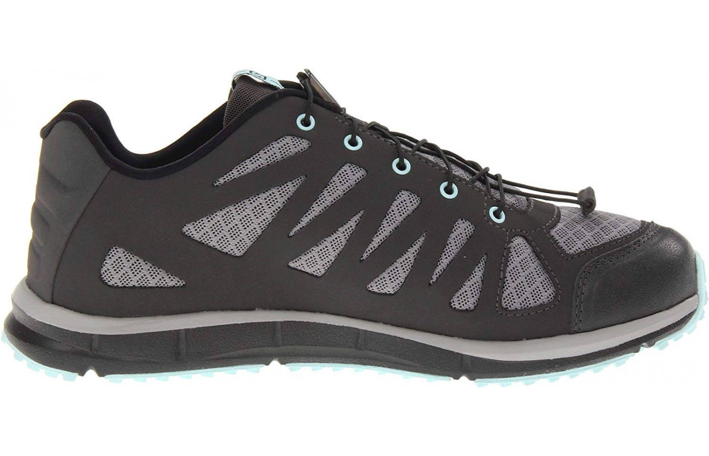 The Kalalau's upper is constructed with a quick-drying nylon mesh