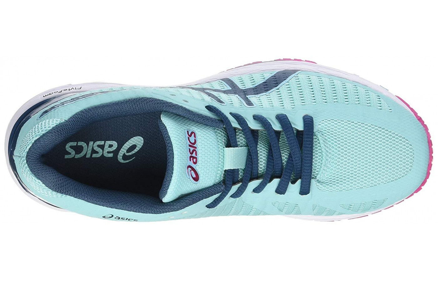 Asics Gel DS Trainer 23 top lacing system